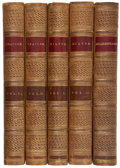 Books:Fine Bindings & Library Sets, [British Poets]. The Aldine Edition of the British Poets. London: Pickering, 1835-1853.... (Total: 52 Items)
