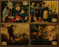"Movie Posters:War, Four Sons (Fox, 1928). Lobby Cards (4) (11"" X 14""). War.. ...(Total: 4 Items)"