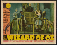 "The Wizard of Oz (MGM, 1939). Lobby Card (11"" X 14""). Fantasy"