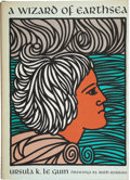 Books:Science Fiction & Fantasy, Ursula Le Guin. A Wizard of Earthsea. Berkeley: ParnassusPress, [1968]. First edition, first state (with faint vert...
