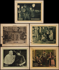 "The Blazing Trail and Others Lot (Universal, 1921). Lobby Cards (5) (11"" X 14""). Drama. ... (Total: 5 Items)"