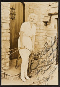 """Movie Posters:Miscellaneous, Jean Harlow (1930s). Signed Portrait Photo (6"""" X 9"""").Miscellaneous.. ..."""