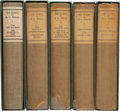 Books:Fine Bindings & Library Sets, H. G. Wells. The Works of H. G. Wells. London: T. Fisher Unwin, Ltd., 1924-1927. Atlantic Edition. One of 1,050 n... (Total: 28 Items)
