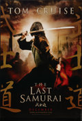 "Movie Posters:Adventure, The Last Samurai (Warner Brothers, 2003). One Sheet (27"" X 40"") DSAdvance. Adventure.. ..."