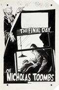 "Original Comic Art:Complete Story, Jack Sparling House of Mystery Complete Unpublished 10-pageStory ""The Final Day... of Nicholas Toombs"" Original A... (Total:10 Original Art)"
