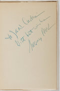 Books:Fiction, Laura Z. Hobson. INSCRIBED BY GREGORY PECK. Gentleman's Agreement. Simon and Schuster, 1947. Book club edition. ...