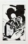 Original Comic Art:Splash Pages, Tim Sale Daredevil: Yellow #1 Splash Page 24 Unused VersionOriginal Art (Marvel, 2001)....