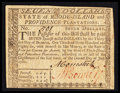 Colonial Notes:Rhode Island, Rhode Island July 2, 1780 $7 Choice About New.. ...