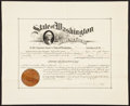 Miscellaneous:Other, State of Washington Law Diploma Dec. 5, 1899.. ...