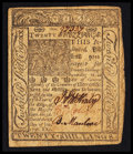 Colonial Notes:Delaware, Delaware January 1, 1776 20s Very Fine.. ...