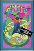 "Movie Posters:Animated, Fantasia (Buena Vista, R-1970). Poster (40"" X 60""). Animated. ..."