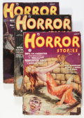 Pulps:Horror, Horror Stories Group (Popular, 1935) Condition: Average VG-....(Total: 5 Comic Books)
