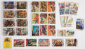 Memorabilia:Trading Cards, Miscellaneous Trading Cards Group (Various Publishers,1930s-60s).... (Total: 87 Items)