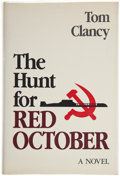 Books:Mystery & Detective Fiction, Tom Clancy. The Hunt for Red October. Annapolis: NavalInstitute, 1984. First edition. First issue jacket....