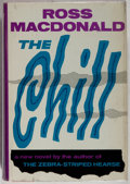 Books:Mystery & Detective Fiction, Ross Macdonald. The Chill. Knopf, 1964. First edition, firstprinting. Spine leaning. Tiny spot of bio-predation to ...