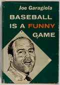 Books:Sporting Books, Joe Garagiola. SIGNED. Baseball is a Funny Game. Lippincott,1960. First edition, first printing. Signed by the au...