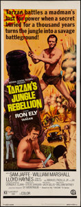 "Movie Posters:Adventure, Tarzan's Jungle Rebellion & Others Lot (National General,1970). Insert (14"" X 36""), Belgian (14.5"" X 21""), & FinnishPoster... (Total: 4 Items)"