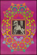"""Movie Posters:Miscellaneous, Peter Max - Ben Turpin in Three Foolish Weeks (Security Printing, 1967) Cameo Poster (24' X 36""""). Miscellaneous.. ..."""