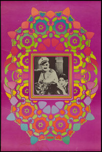 "Peter Max - Ben Turpin in Three Foolish Weeks (Security Printing, 1967) Cameo Poster (24' X 36""). Miscellaneous..."