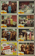 """Movie Posters:Musical, Private Buckaroo (Universal, 1942). Lobby Card Set of 8 (11"""" X 14""""). Musical.. ... (Total: 9 Items)"""