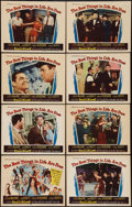"""Movie Posters:Musical, The Best Things in Life Are Free (Universal, 1956). Lobby Card Set of 8 (11"""" X 14""""). Musical.. ... (Total: 8 Items)"""
