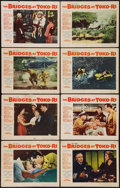 "Movie Posters:War, The Bridges at Toko-Ri (Paramount, 1954). Lobby Card Set of 8 (11""X 14""). War.. ... (Total: 8 Items)"