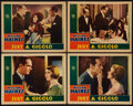 "Movie Posters:Comedy, Just a Gigolo (MGM, 1931). Lobby Cards (4) (11"" X 14""). Comedy..... (Total: 4 Items)"