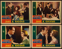 "Just a Gigolo (MGM, 1931). Lobby Cards (4) (11"" X 14""). Comedy. ... (Total: 4 Items)"