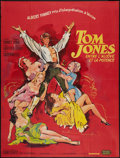 "Movie Posters:Academy Award Winners, Tom Jones (United Artists, 1963). French Grande (47"" X 63"").Academy Award Winners.. ..."