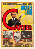 "Movie Posters:Crime, Get Carter (MGM, 1971). Italian 4 - Foglio (55"" X 78""). Crime.. ..."