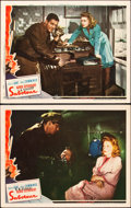 """Movie Posters:Hitchcock, Saboteur (Universal, 1942). Lobby Cards (2) (11"""" X 14""""). Hitchcock.. ... (Total: 2 Items)"""