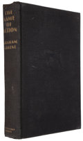 Books:Mystery & Detective Fiction, Graham Greene. The Name of Action. Garden City: Doubleday, Doran, 1931. First American edition....