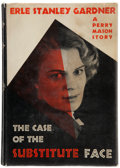 Books:Mystery & Detective Fiction, Erle Stanley Gardner. The Case of the Substitute Face. New York: Morrow, 1938. First edition....