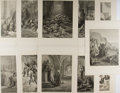Books:Prints & Leaves, Lot of 11 Antique Gustave Doré Illustrations Featuring Scenes Fromthe Crusades. From History of the Crusades by Joseph ...