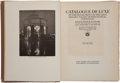 Books:Art & Architecture, [Panama-Pacific International Expo]. Catalogue de Luxe of the Department of Fine Arts... SF: Elder, [1915]. Firs... (Total: 2 Items)
