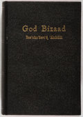 Books:Religion & Theology, [New Testament in Navajo]. God Bizaad. New York: American Bible Society, [n.d., ca. 1960]. Publisher's binding, in t...