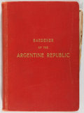 Books:Travels & Voyages, [Argentina]. Argentine Touring Club. [Baedeker of the Argentine Republic]. Buenos Aires, [n.d., ca. 1921]. First...
