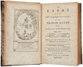 Books:Literature Pre-1900, [Jane Collier]. An Essay on the Art of ingeniouslyTormenting... London: A. Millar, 1757. Second edition,corrected....