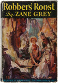 Books:Literature 1900-up, Zane Grey. Robber's Roost. New York: Harper, 1932. Firstedition. Signed check by Zane Grey....