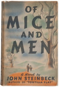 Books:Literature 1900-up, John Steinbeck. Of Mice and Men. New York: Covici-Friede,[1937]. First edition, first issue....
