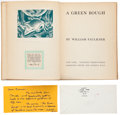 Books:Literature 1900-up, William Faulkner. A Green Bough. New York: Smith, Haas,1933. First edition, one of 360 copies signed. Signed book...