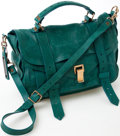 Luxury Accessories:Bags, Heritage Vintage: Proenza Schouler Green Leather PS1 Bag. ...