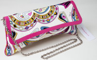 Heritage Vintage: Emilio Pucci Silk Clutch with Chain Strap
