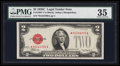Small Size:Legal Tender Notes, Fr. 1504* $2 1928C Legal Tender Note. PMG Choice Very Fine 35.. ...