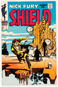 Nick Fury, Agent of S.H.I.E.L.D. #7 (Marvel, 1968) Condition: NM-