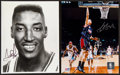 Basketball Collectibles:Photos, Scottie Pippen and Yao Ming Signed Photographs Lot of 2....