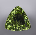 Gems:Faceted, FACETED MOLDAVITE CRYSTAL M- 12.72 CARATS...
