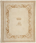 Books:Fine Bindings & Library Sets, [Mary of Teck, Queen Consort to George V]. Harrison. Suggestionsfor Illuminating. London: [ca. 1870]. Second ed...