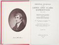 Books:Americana & American History, Meriwether Lewis, William Clark. Original Journals of the Lewisand Clark Expedition, 1804-1806... New York: 195...(Total: 8 Items)