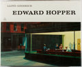 Books:Art & Architecture, Lloyd Goodrich. Edward Hopper. Abrams, 1978. First edition, first printing. General rubbing and soiling to dj, with ...